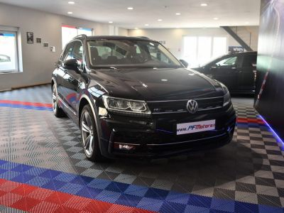 Volkswagen Tiguan R-Line 1.4 TSI 150 DSG GPS Hayon Attelage Front Lane App Connect JA 19 - <small></small> 27.490 € <small>TTC</small> - #7