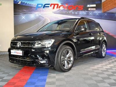 Volkswagen Tiguan R-Line 1.4 TSI 150 DSG GPS Hayon Attelage Front Lane App Connect JA 19 - <small></small> 27.490 € <small>TTC</small> - #10