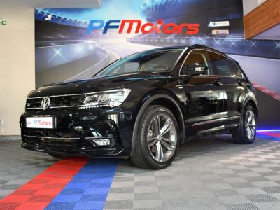 Volkswagen Tiguan R-Line 1.4 TSI 150 DSG GPS Hayon Attelage Front Lane App Connect JA 19 - <small></small> 27.490 € <small>TTC</small> - #11