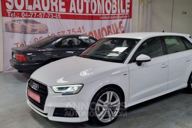 Audi A3 Sportback 40 TDI 184 S line quattro S tron - <small></small> 25.490 € <small>TTC</small> - #1