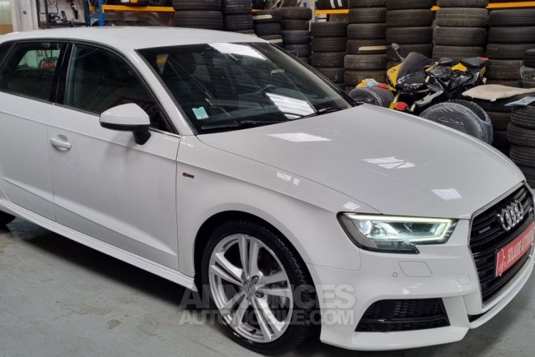 Audi A3 Sportback 40 TDI 184 S line quattro S tron - <small></small> 25.490 € <small>TTC</small> - #2