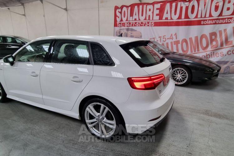 Audi A3 Sportback 40 TDI 184 S line quattro S tron - <small></small> 25.490 € <small>TTC</small> - #4