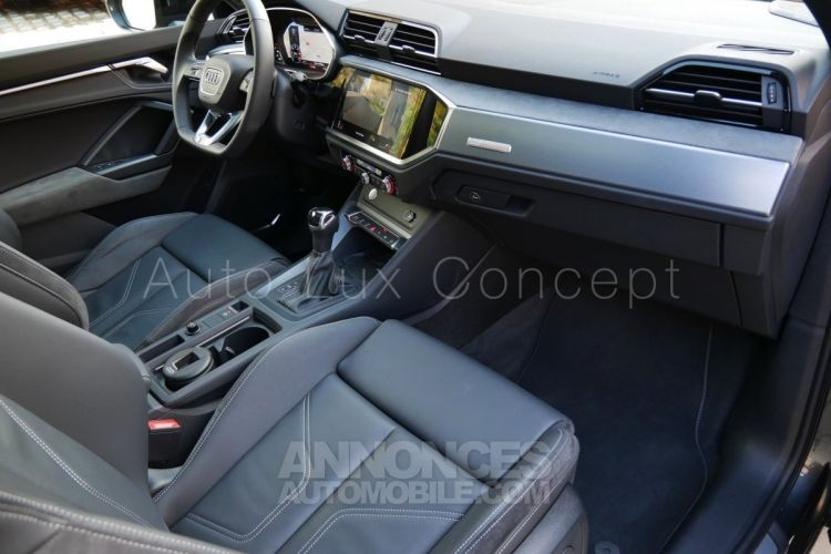 Audi Q3 Sportback S line 35 TDi S tronic, Toit pano, Matrix LED, ACC, Caméra 360°, Sièges électriques - <small></small> 53.900 € <small>TTC</small> - #6