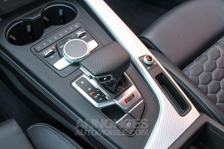 Audi RS4 Avant 2.9 V6 TFSI 450ch quattro tiptronic 8 Euro6d-T - <small></small> 84.950 € <small>TTC</small> - #38