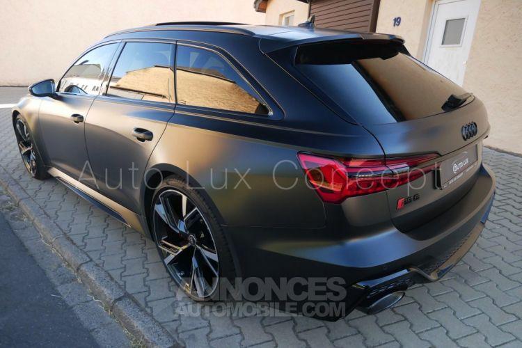 Audi RS6 Avant, Dynamique+, RS Design, ACC, Caméra 360°, HUD, Soft Close, Châssis RS, Garantie 5 ans - <small></small> 149.890 € <small>TTC</small> - #4