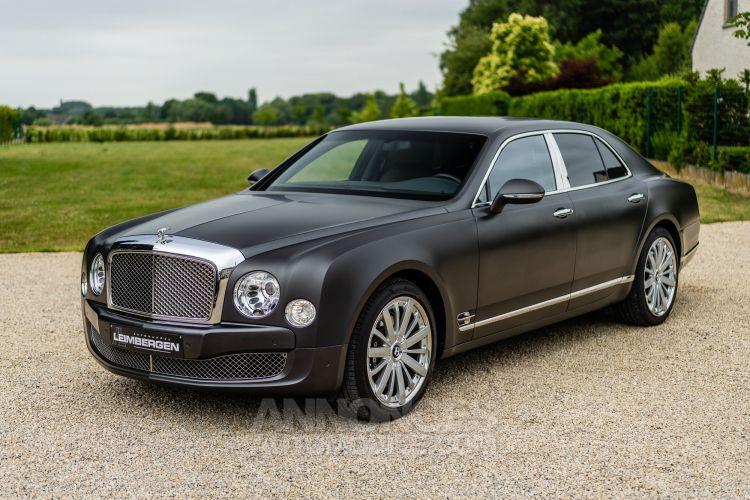 Bentley Mulsanne Sièges chauffants/ventiles/massage / TV / Toit en cuir / Camera de recul - <small></small> 99.000 € <small>TTC</small> - #73