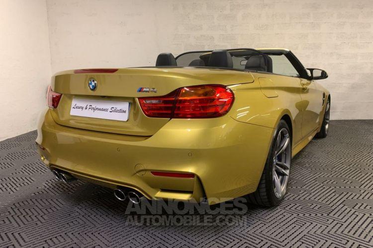 BMW M4 CABRIOLET 431ch DKG7 46000km 1° MAIN CUIR ETENDU CARBONE - <small></small> 57.990 € <small>TTC</small> - #4