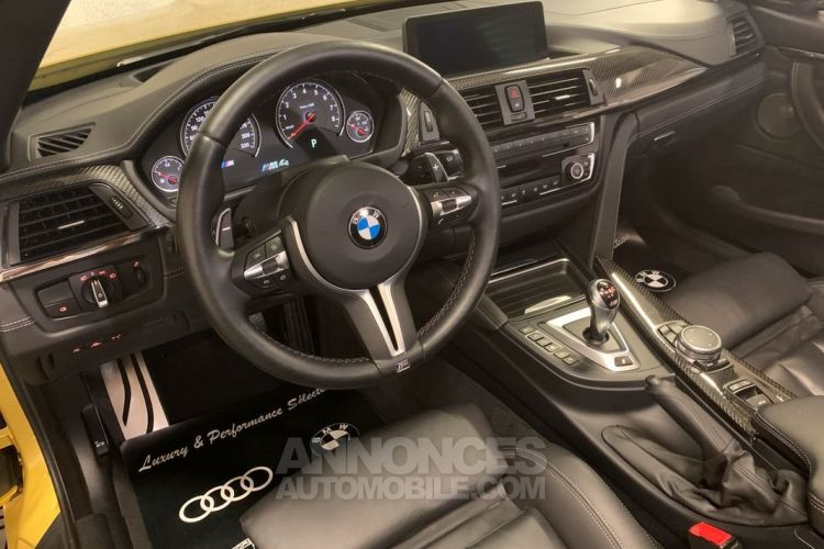 BMW M4 CABRIOLET 431ch DKG7 46000km 1° MAIN CUIR ETENDU CARBONE - <small></small> 57.990 € <small>TTC</small> - #5