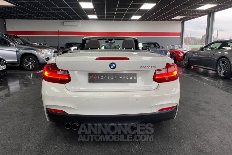 BMW Série 2 220D F23 190 CH CABRIOLET M SPORT BVA8 Francaise - <small></small> 29.990 € <small>TTC</small> - #10