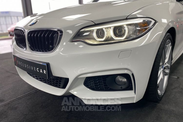 BMW Série 2 220D F23 190 CH CABRIOLET M SPORT BVA8 Francaise - <small></small> 29.990 € <small>TTC</small> - #14