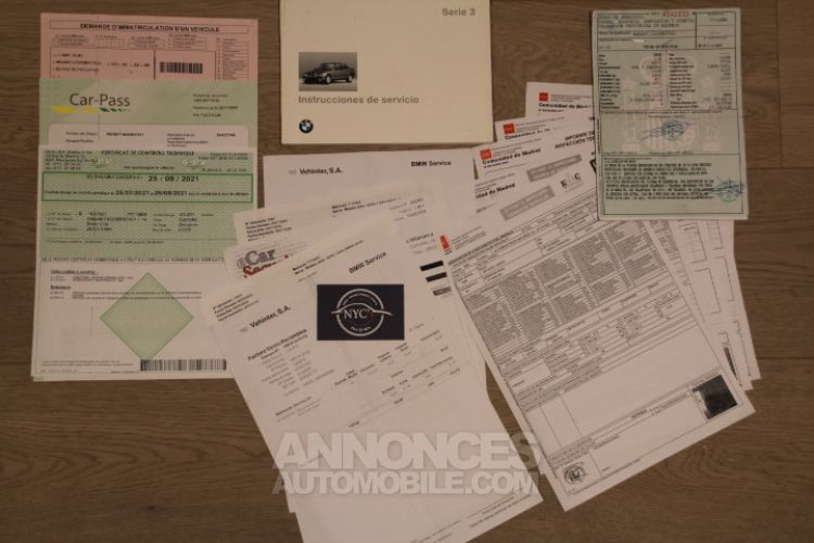 BMW Série 3 E36 328i - <small></small> 14.900 € <small>TTC</small> - #55