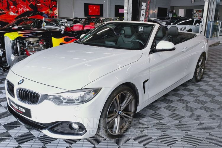 BMW Série 4 SERIE 4 (F33) CABRIOLET 430I 252 SPORT BVA8 - <small></small> 41.000 € <small>TTC</small> - #1