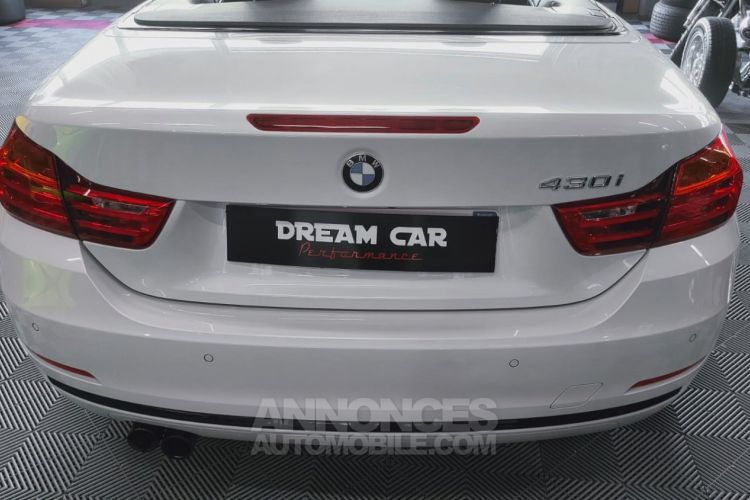 BMW Série 4 SERIE 4 (F33) CABRIOLET 430I 252 SPORT BVA8 - <small></small> 41.000 € <small>TTC</small> - #14