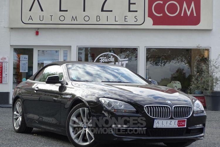 BMW Série 6 SERIE 650i Cabriolet Luxe - BVA Sport CABRIOLET F12 650i PHASE 1 - <small></small> 44.900 € <small>TTC</small> - #5