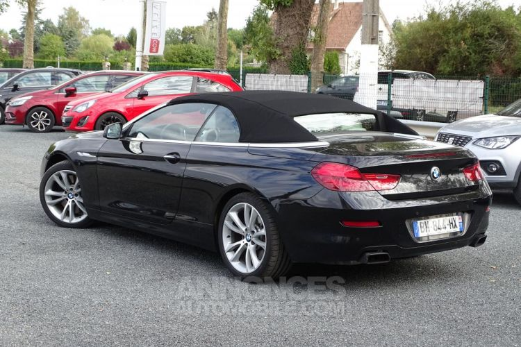 BMW Série 6 SERIE 650i Cabriolet Luxe - BVA Sport CABRIOLET F12 650i PHASE 1 - <small></small> 44.900 € <small>TTC</small> - #7