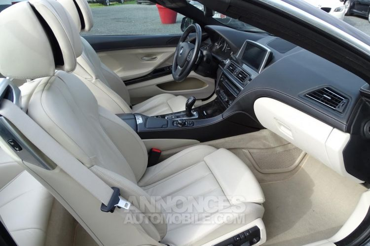 BMW Série 6 SERIE 650i Cabriolet Luxe - BVA Sport CABRIOLET F12 650i PHASE 1 - <small></small> 44.900 € <small>TTC</small> - #9