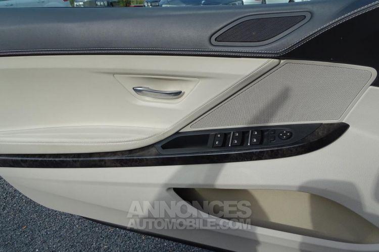 BMW Série 6 SERIE 650i Cabriolet Luxe - BVA Sport CABRIOLET F12 650i PHASE 1 - <small></small> 44.900 € <small>TTC</small> - #24