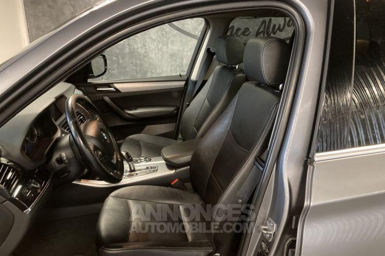 BMW X3 XDRIVE 35D 313 LUXE BVA8 - <small></small> 20.490 € <small>TTC</small> - #12