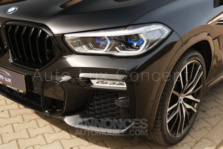 BMW X6 M50d, ACC, Caméra 360°, Pack extérieur Carbone, Toit Sky Lounge, Massage, Attelage - <small></small> 108.900 € <small>TTC</small> - #9