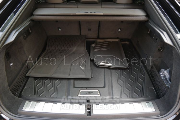 BMW X6 M50d, ACC, Caméra 360°, Pack extérieur Carbone, Toit Sky Lounge, Massage, Attelage - <small></small> 108.900 € <small>TTC</small> - #20