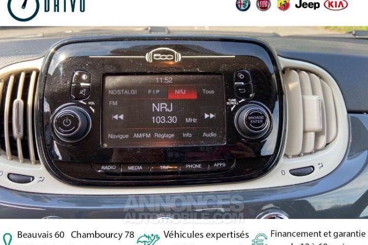 Fiat 500 1.2 8v 69ch Pop - <small></small> 8.970 € <small>TTC</small> - #8
