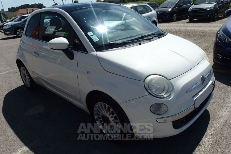 Fiat 500 1.2 8V 69CH S&S LOUNGE - <small></small> 6.490 € <small>TTC</small> - #1
