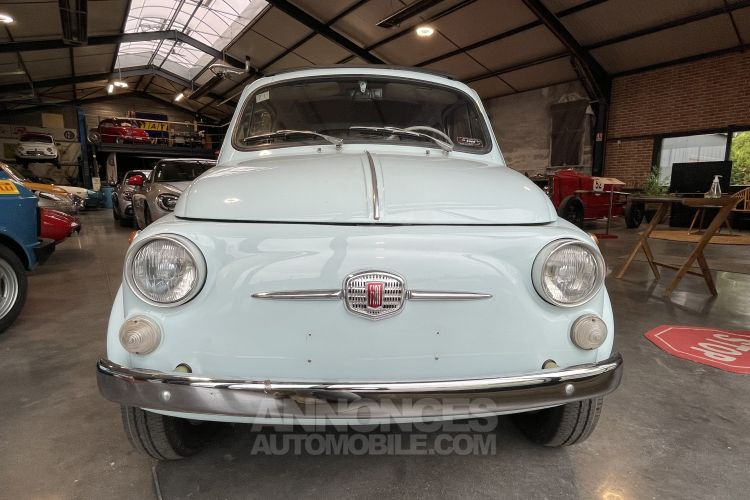 Fiat 500 D PORTES SUICIDE TOIT AMOVIBLE - <small></small> 17.900 € <small>TTC</small> - #2