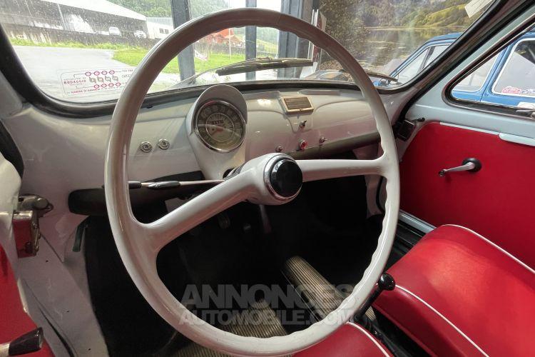 Fiat 500 D PORTES SUICIDE TOIT AMOVIBLE - <small></small> 17.900 € <small>TTC</small> - #6