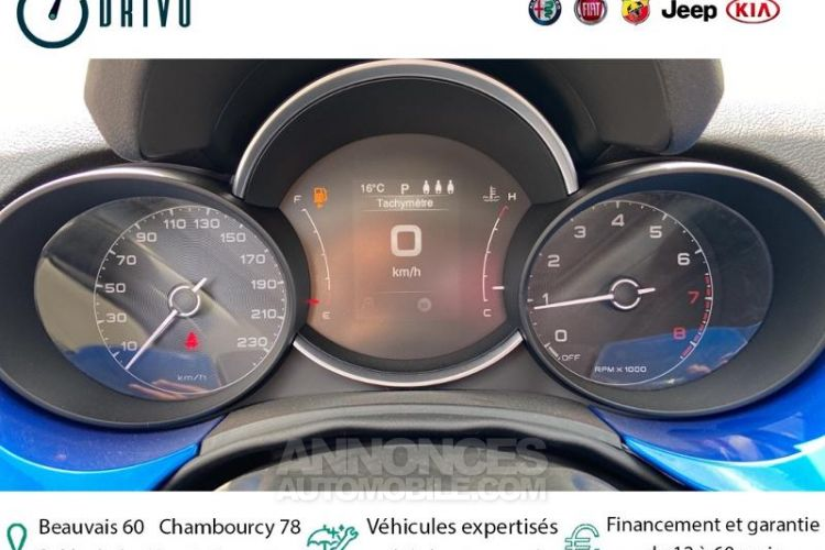 Fiat 500X 1.3 FireFly Turbo T4 150ch Elysia DCT - <small></small> 24.480 € <small>TTC</small> - #7