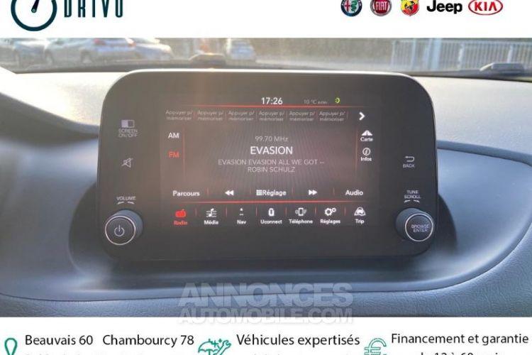 Fiat TIPO 1.6 MultiJet 120ch Elysia S/S MY20 5p - <small></small> 19.980 € <small>TTC</small> - #8