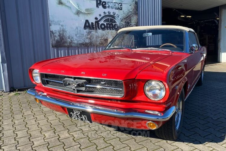 Ford Mustang CABRIOLET 1965 - <small></small> 49.900 € <small>TTC</small> - #1