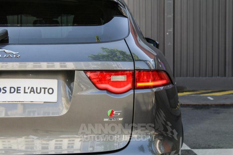 Jaguar F-Pace V6 3.0D 300ch S 4x4 BVA8 - <small></small> 51.950 € <small>TTC</small> - #22