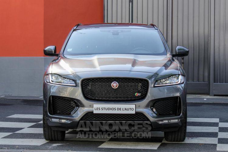 Jaguar F-Pace V6 3.0D 300ch S 4x4 BVA8 - <small></small> 51.950 € <small>TTC</small> - #58