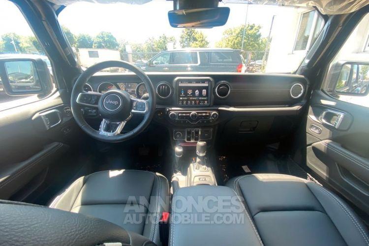 Jeep Gladiator 2021 Overland 3.0L V6 Turbo Diesel bva 8 cuir 76200 ttc - <small></small> 76.200 € <small>TTC</small> - #7