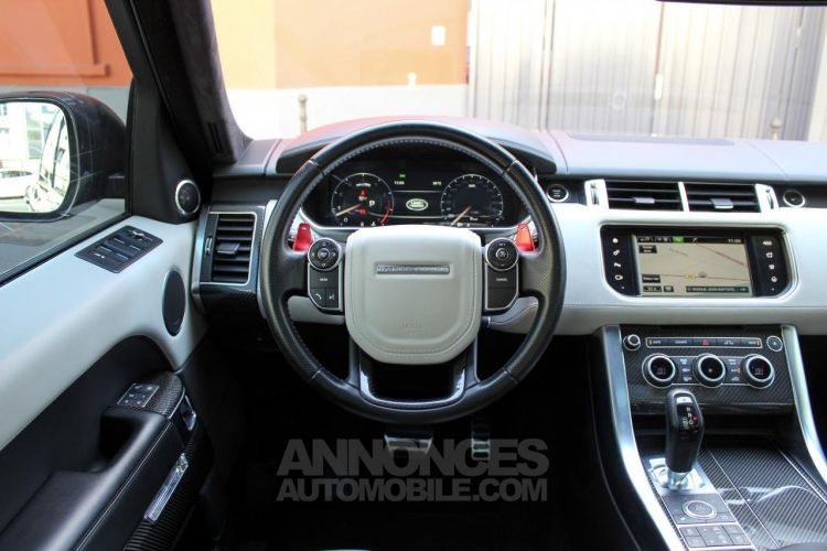 Land Rover Range Rover Sport II 5.0 V8 Supercharged 550ch SVR Mark V - <small></small> 69.950 € <small>TTC</small> - #40