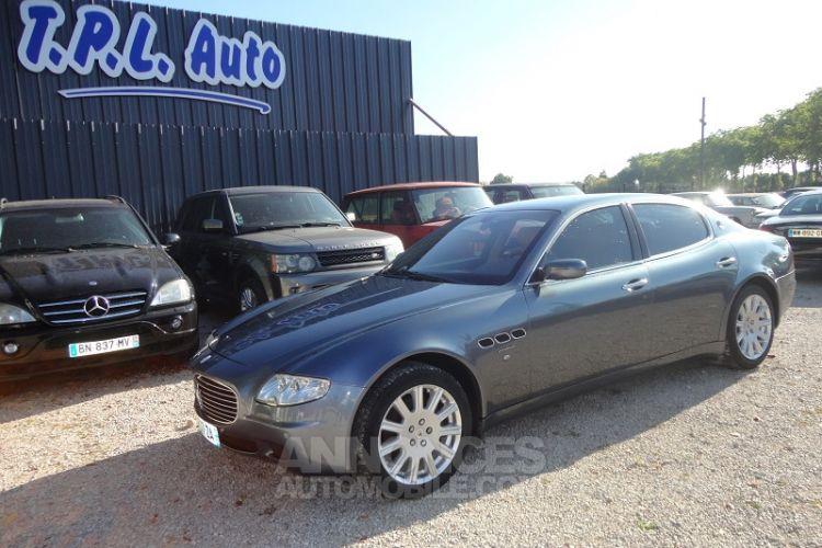 Maserati Quattroporte 4.2 V8 DUOSELECT - <small></small> 19.800 € <small>TTC</small> - #3