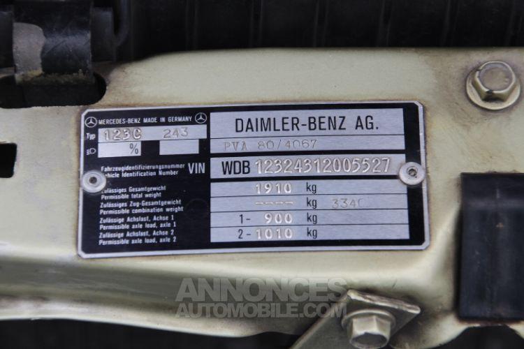 Mercedes 230 CE - <small></small> 12.500 € <small>TTC</small> - #25