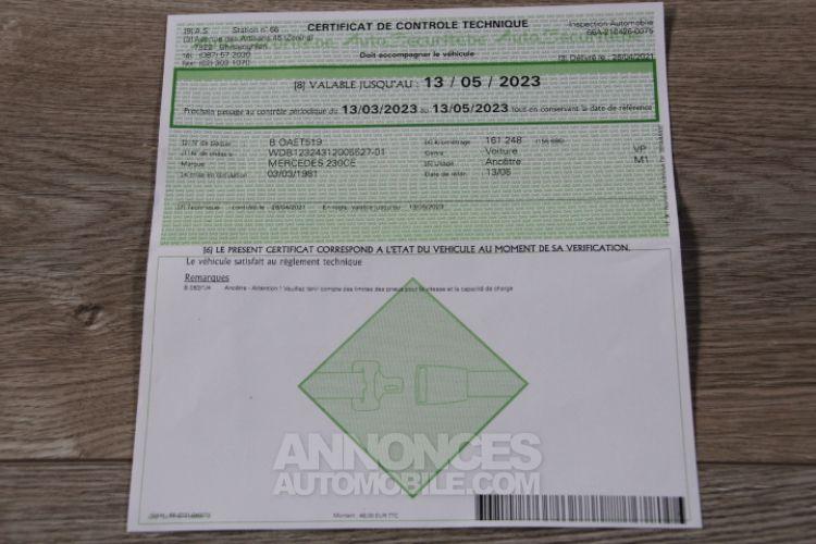 Mercedes 230 CE - <small></small> 12.500 € <small>TTC</small> - #40