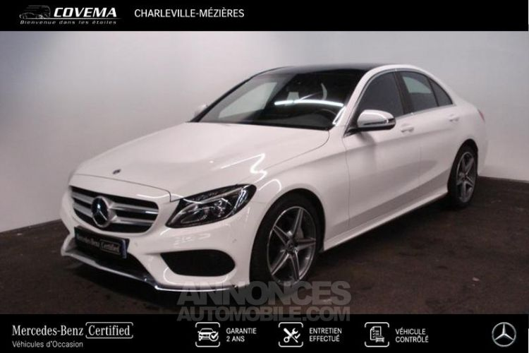 Mercedes Classe C 180 156ch AMG Line 9G-tronic - <small></small> 29.900 € <small>TTC</small> - #1
