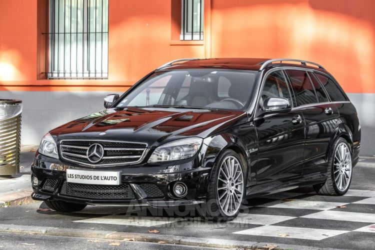 Mercedes Classe C III SW 63 AMG AVANTGARDE BVA7 SPEEDSHIFT PLUS - <small></small> 30.950 € <small>TTC</small> - #1