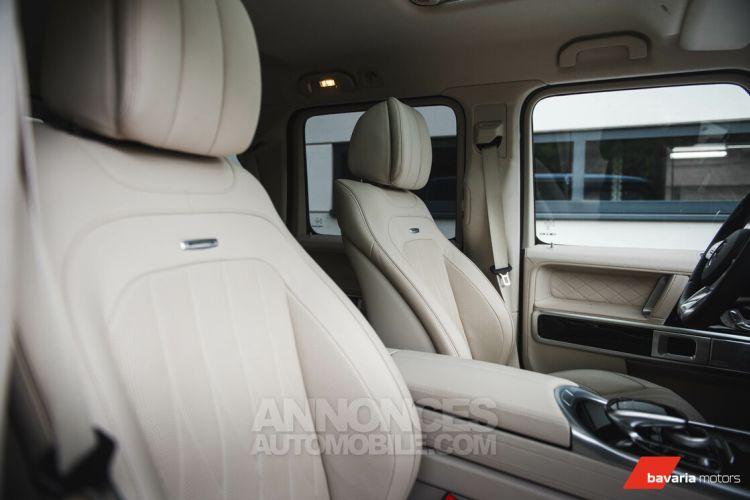 Mercedes Classe G 63 AMG AMG V8 Biturbo - BURMESTER - 360° - Nightpack - <small></small> 172.900 € <small>TTC</small> - #31