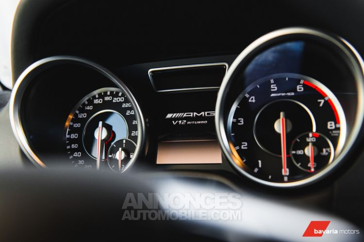 Mercedes Classe G 65 AMG V12 *HARMAN KARDON* PANO* PARKTRONIC - <small></small> 134.900 € <small>TTC</small> - #16
