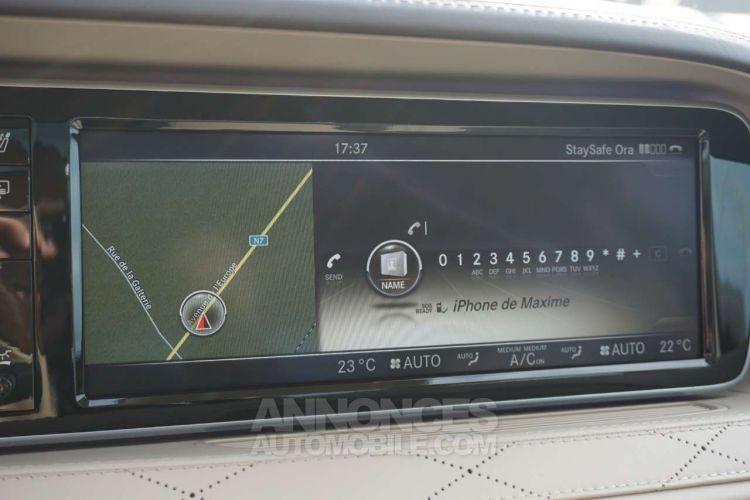 Mercedes Classe S 350 d - Full Options - Toit pano - Burmester - EURO 6 - <small></small> 44.950 € <small>TTC</small> - #14