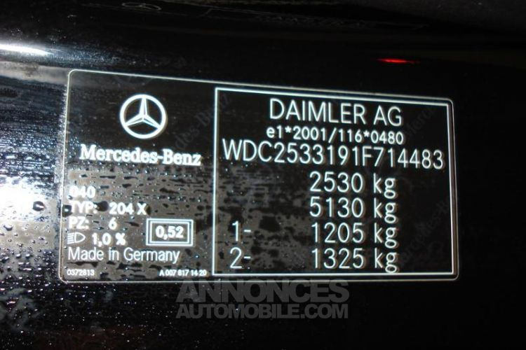 Mercedes GLC Coupé 300 d 245ch AMG Line 4Matic 9G-Tronic - <small></small> 59.900 € <small>TTC</small> - #16