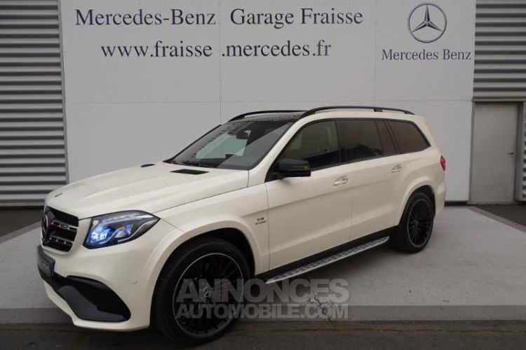 Mercedes GLS 63 AMG 585ch 4Matic 7G-Tronic Speedshift Plus Euro6d-T - <small></small> 98.900 € <small>TTC</small> - #1