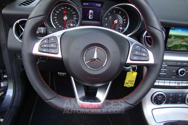 Mercedes SLC 180 i, AMG, slechts 6.000 km, leder, navi, airscarf - <small></small> 33.900 € <small>TTC</small> - #9