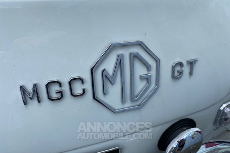 MG MGC GT 6 CYLINDRES 3 LITRES OVERDRIVE - <small></small> 26.500 € <small>TTC</small> - #6
