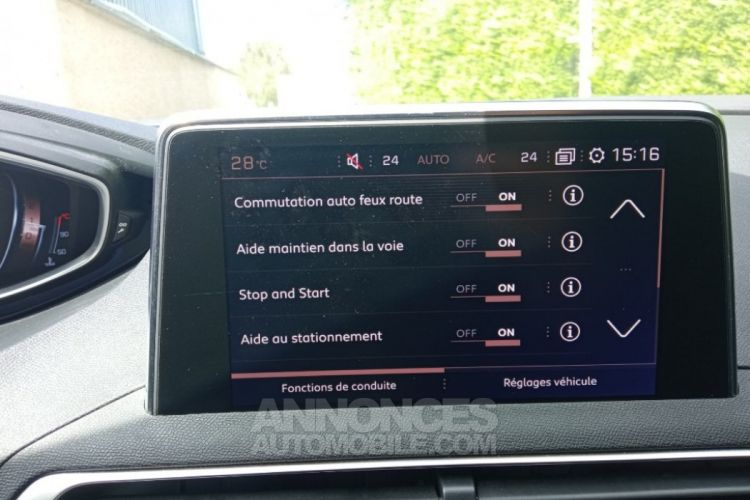 Peugeot 3008 1.6 BlueHDi 120ch SS BVM6 GT Line - <small></small> 19.700 € <small>TTC</small> - #9