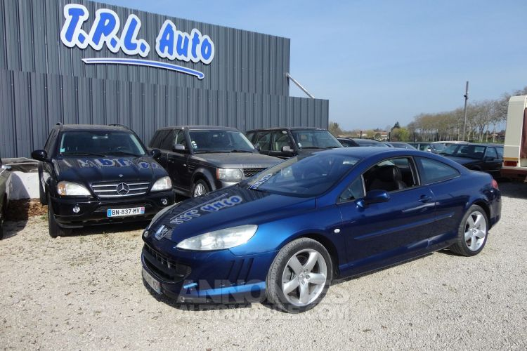 Peugeot 407 COUPE 2.7 V6 HDI SPORT PACK BAA FAP - <small></small> 6.500 € <small>TTC</small> - #10
