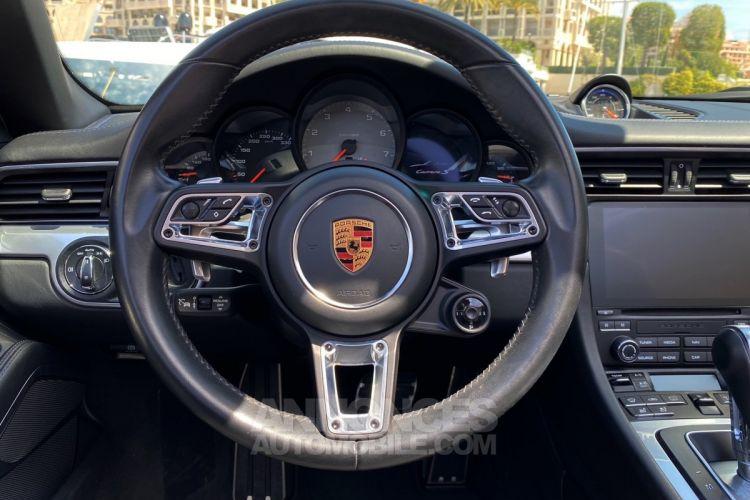 Porsche 911 TYPE 991 CARRERA S CABRIOLET 420 CV PDK - MONACO - <small></small> 114.900 € <small>TTC</small> - #19